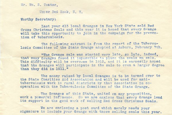 Letter from W. N. Giles, Chas. G. McLouth, and J. W. Scott to W. S. Teator