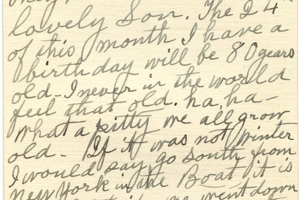 Letter from Emma C. McAtee to W. S. Teator Page 2