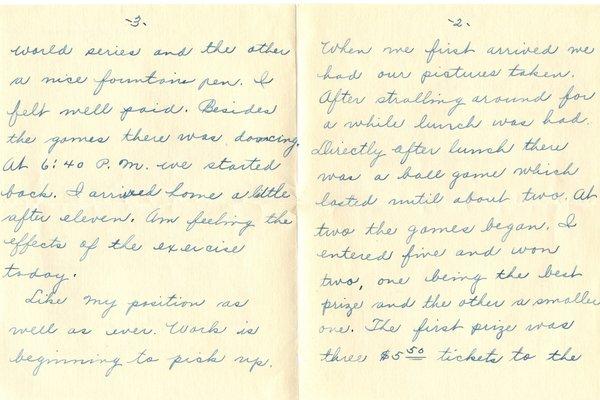 Letter Harold L. Teator to William S. Teator (1924-9-29) Page 2