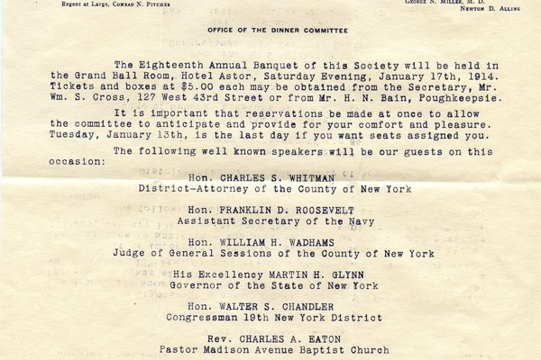 Letter William S. Cross to William S. Teator
