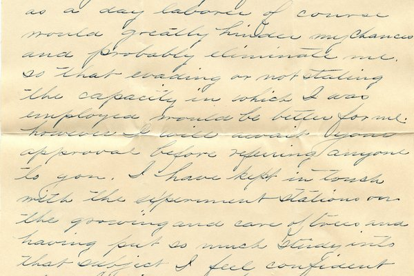 Letter Everett F. Wright to William S. Teator Page 3