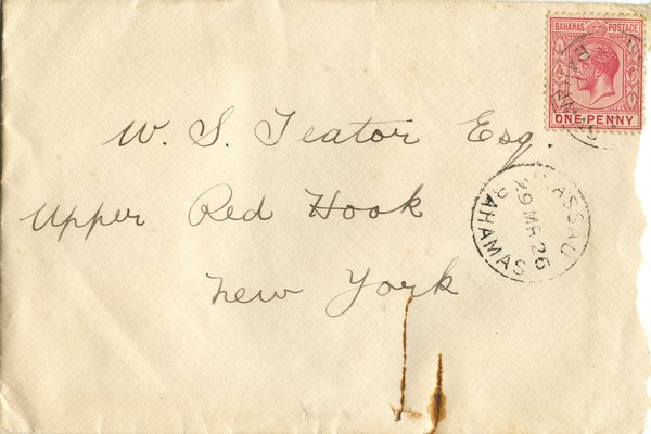 Letter E. N. Green to William S. Teator Page 1