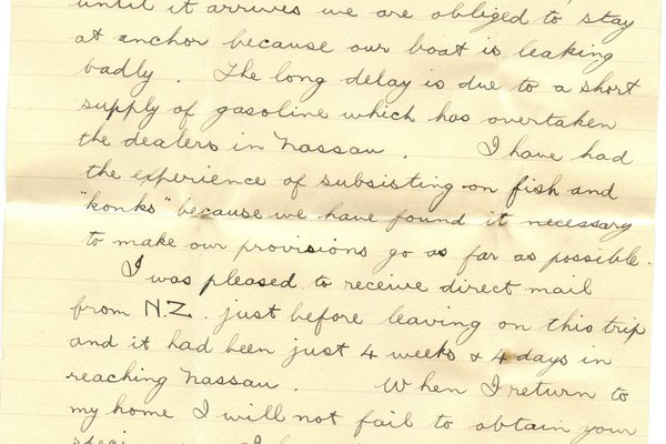Letter E. N. Green to William S. Teator Page 3