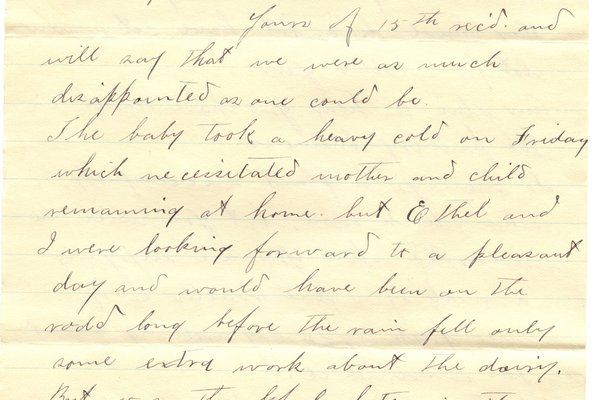 Letter H. Greene to William S. Teator (1898-5-17) Page 1