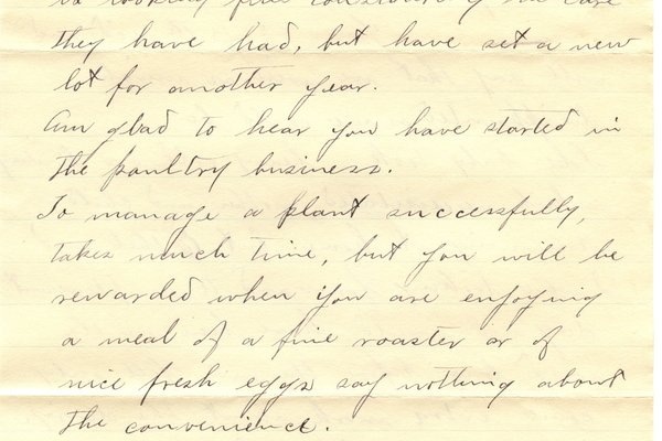 Letter H. Greene to William S. Teator (1898-5-17) Page 2