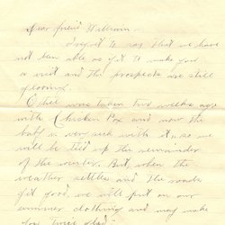 Letter H. Greene to William S. Teator (1898-2-16) Page 1