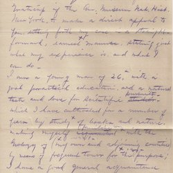 Letter William S. Teator to Department of the Interior U.S. Geological Survey Page 1