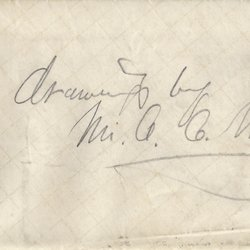 Letter A. C. Warren to William S. Teator Page 1