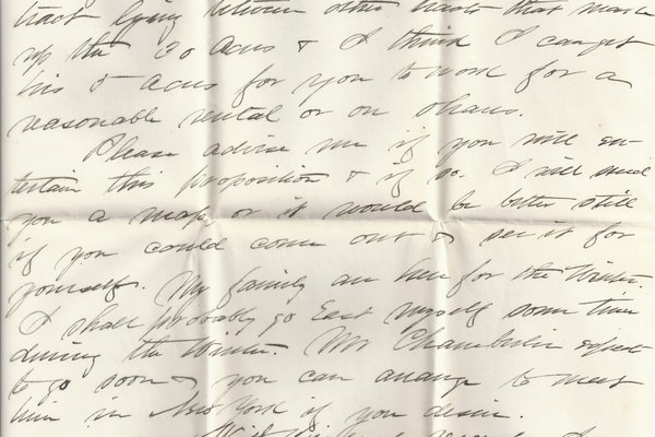 Letter Edwin D. Ingersoll to William S. Teator (1889-11-14) Page 3