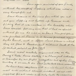 Letter T. Lee Roberts to William S. Teator (1925-1-18)