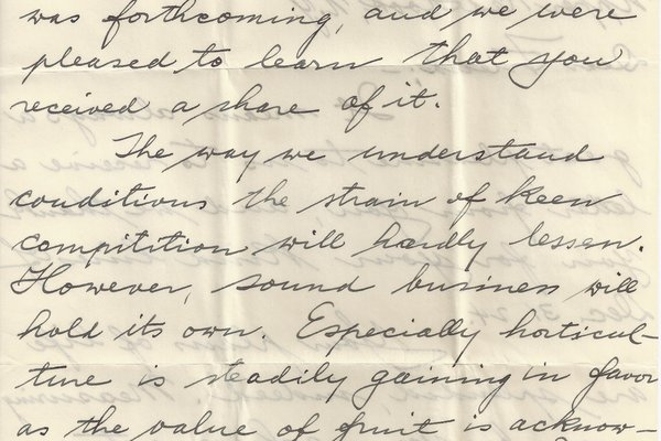 Letter Ed Elsner to William S. Teator Page 2