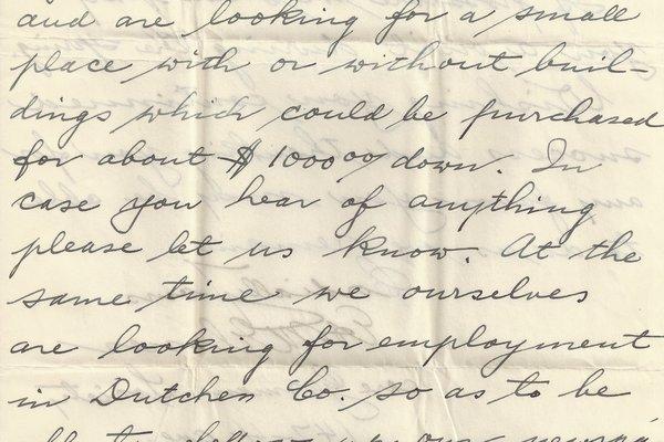 Letter Ed Elsner to William S. Teator Page 3