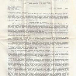Letter John N. Knapp to William S. Teator Page 1