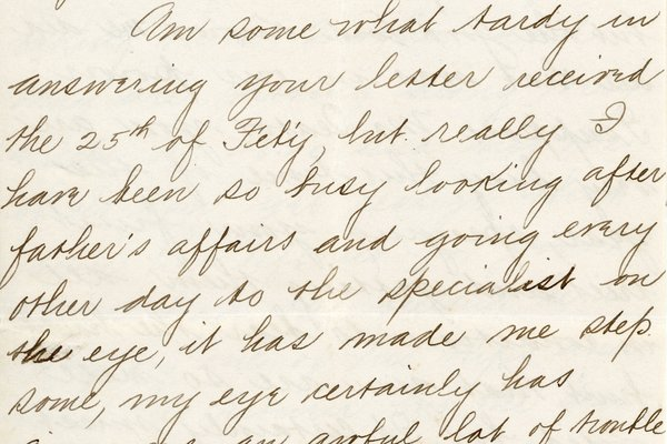 Letter from G. T. McAtee* to William S. Teator, page 1