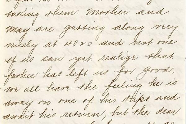 Letter from G. T. McAtee* to William S. Teator, page 2