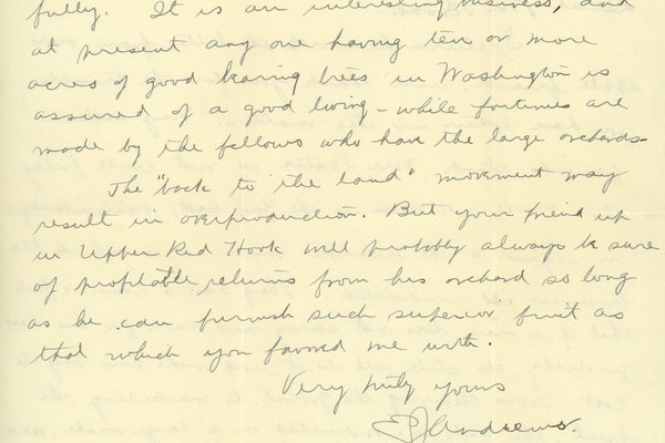 Letter from E. J. Andrews to Charles H. Broas, page 2