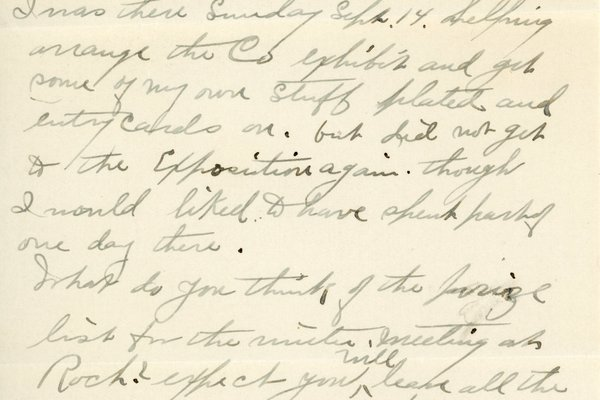 Letter from Leslie Tanner to W. S. Teator Page 2