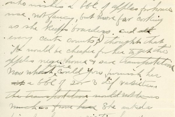 Letter from Leslie Tanner to W. S. Teator Page 3
