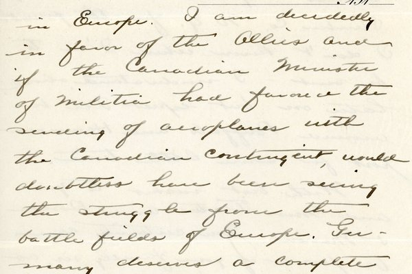 Letter from Theodore C. Macaulay to W. S. Teator Page 5