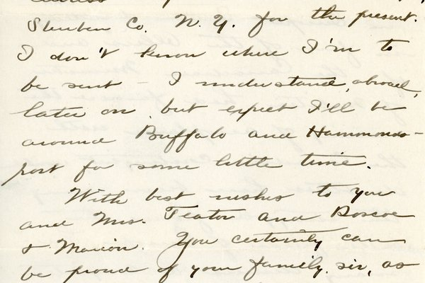 Letter from Theodore C. Macaulay to W. S. Teator Page 6