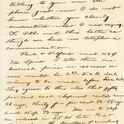 Letter from Theodore C. Macaulay to W. S. Teator Page 1