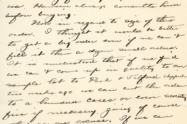 Letter from Theodore C. Macaulay to W. S. Teator Page 2